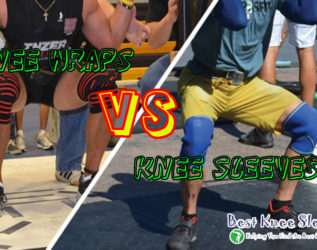 Knee Sleeves vs Knee Wraps