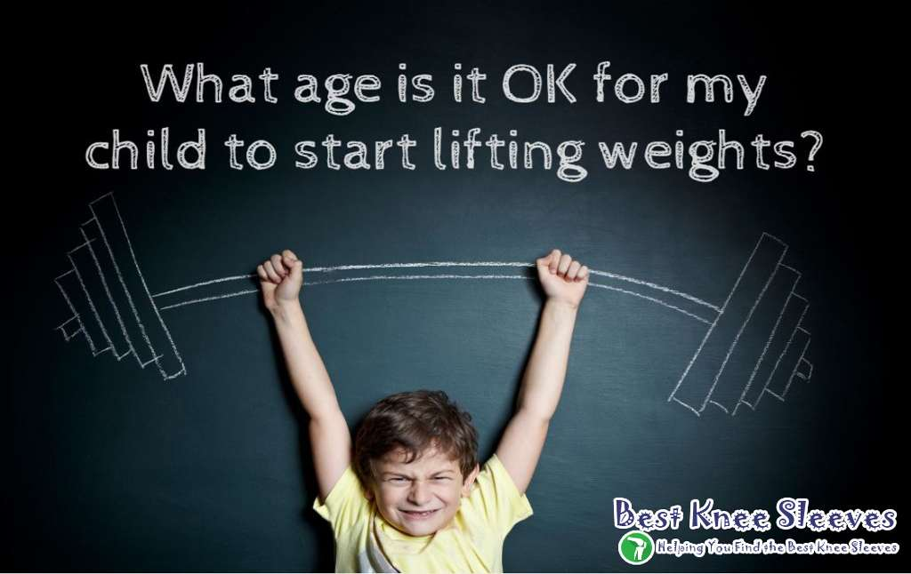 what age is it ok my child to start lifting weight